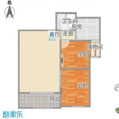 85.23方两室一厅一卫