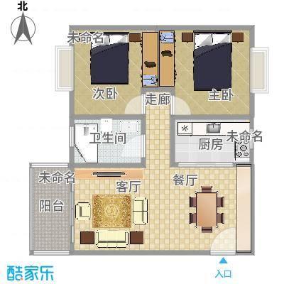 东方花园户型图