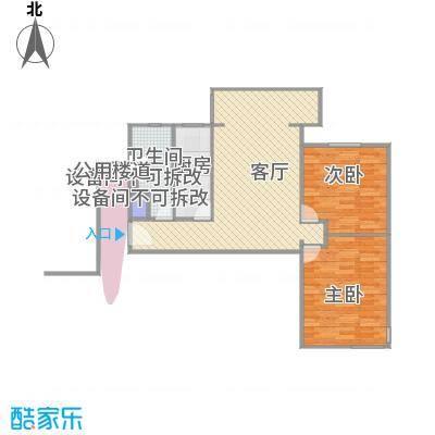 锦园小区A3两室一厅