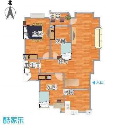 3室1厅RIIBOOB