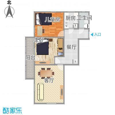志新村小区塔楼85平米三居(装修)