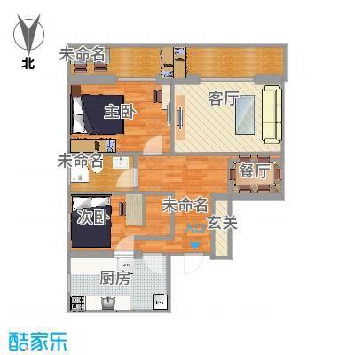 98m²两室一厅