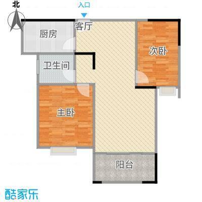 122方A2户型三室两厅