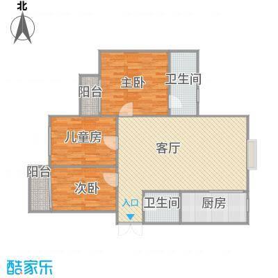 R三室两厅一厨两卫