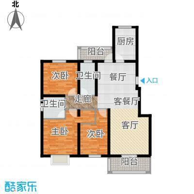 天境户型3室1厅2卫1厨 - 副本