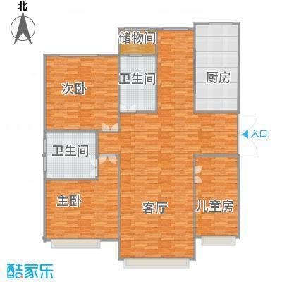 上国佳苑2楼132平三室两厅两卫 - 副本