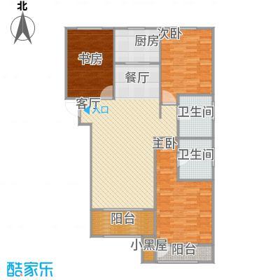 A户型三室两厅两卫127.8平米 - 副本