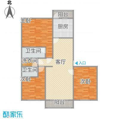 122平三室两厅一厨两卫