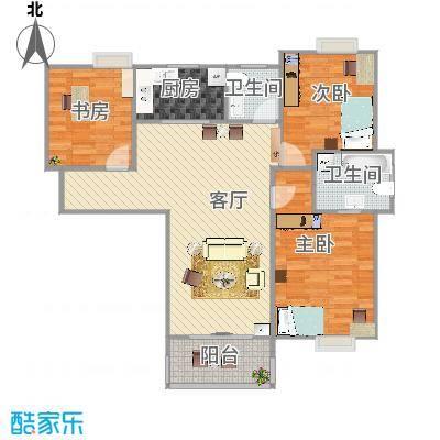 玉成家园120方三室两厅 - 副本