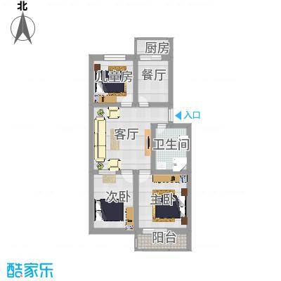 三室一厅一卫 - 副本 - 副本