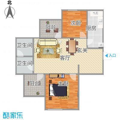 94平两室两厅 - 副本