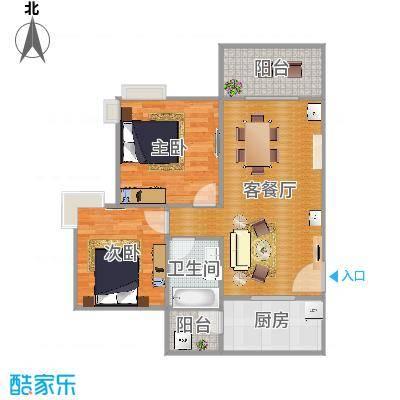 广州亚运城天誉二期7座04单元的户型图