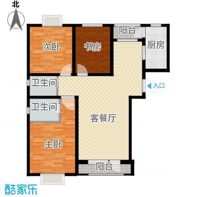 伯爵源筑117.00㎡D户型3室2厅2卫 - 副本