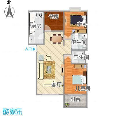 112 三室两厅两卫 - 副本