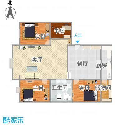 3室两厅1卫1厨 - 副本