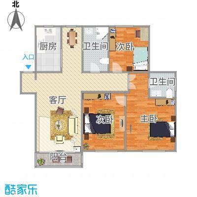 中国铁建梧桐苑的户型图