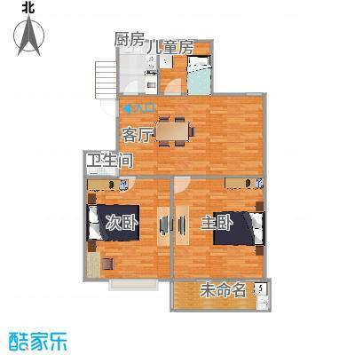 育秀东区89平方2室一厅一卫