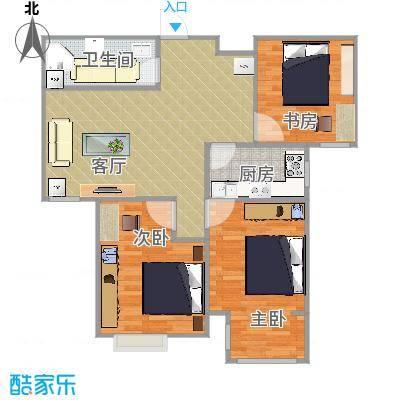97方三室一厅方案1
