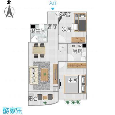金裕花园85平两室一厅 - 副本