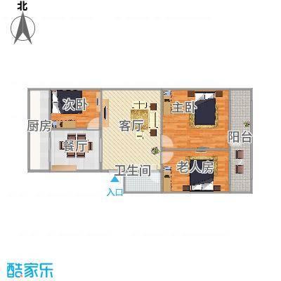 3室内2厅