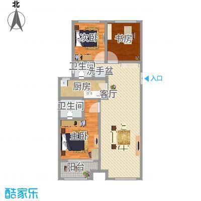 御华园122平3室2厅2卫