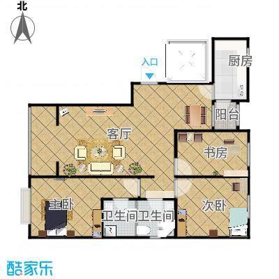 北京房山富燕新村的户型图