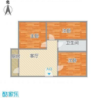 55平户型三房一厅 - 副本