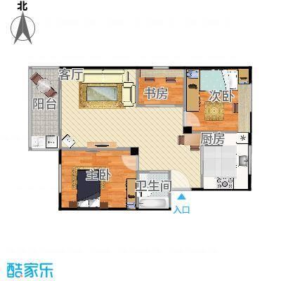 兴裕新村的户型图