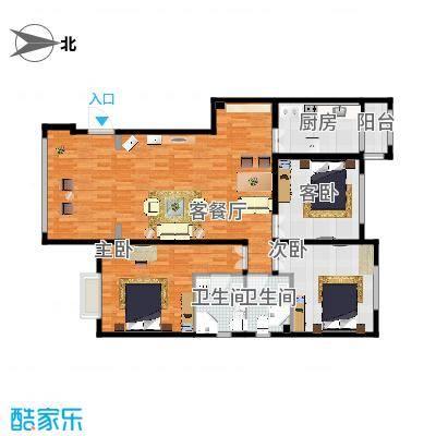 御府天苑126方A1三室两厅