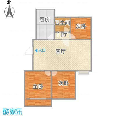 3室一厅106平