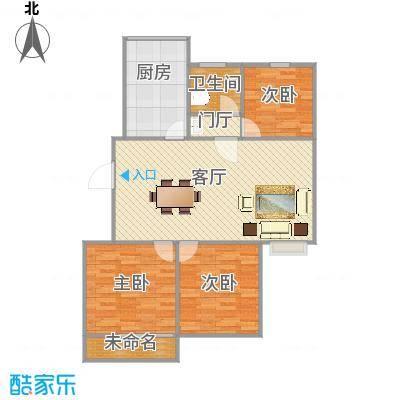 3室一厅106平 - 副本 - 副本