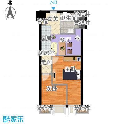 绍兴颐高广场55.00㎡I户型 - 副本