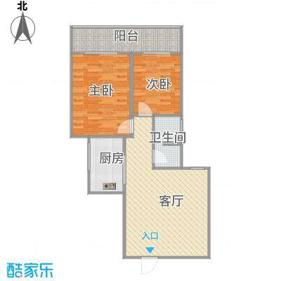 咸阳世纪锦城的户型图高层2单元 - 副本