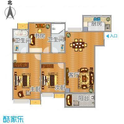 九龙仓玺园139方3室2厅2卫1厨 - 副本