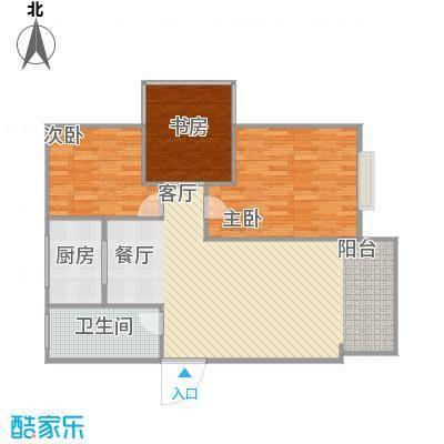 两室两厅一厨一卫-具体尺寸