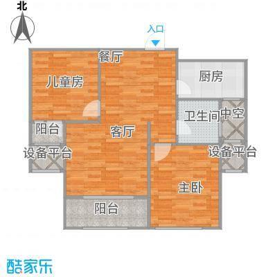 红石原著小区E2+改后户型 - 副本 - 副本