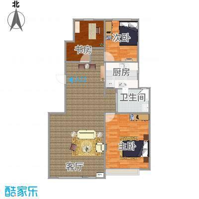 103平小三房方案1 - 副本 - 副本