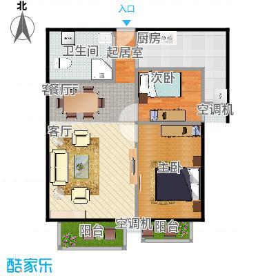 2室2厅0