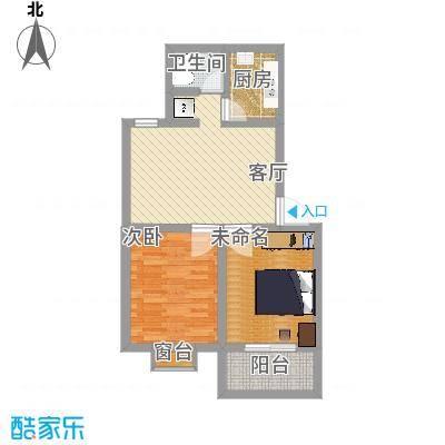 昌盛花园2室1厅