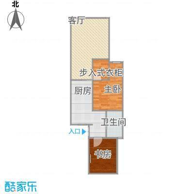 乾溪二村-设计方案二-完成(进屋从厨房到客厅阳台)