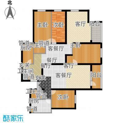 天缘公寓(尾盘)180.40㎡户型-副本