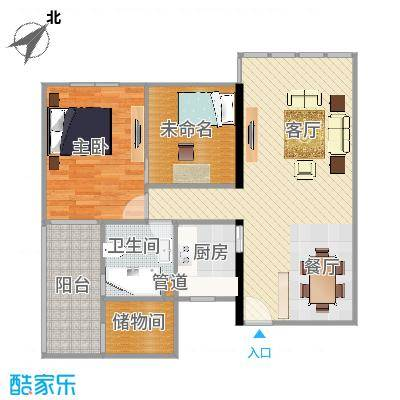 华敏大厦96房两室两厅(改造后3)-副本-副本