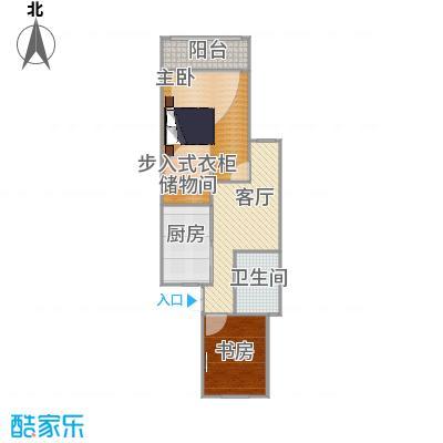 乾溪二村-设计方案四-完成(不拆墙厅在中间)