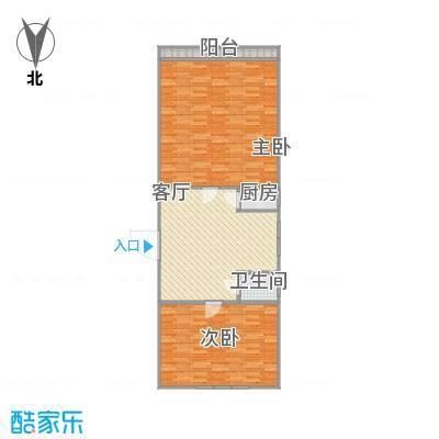 65平两居室-最后一单元-4层最右手-副本