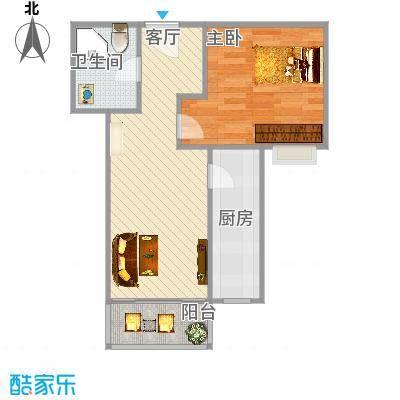 泰福苑-60平米-一居