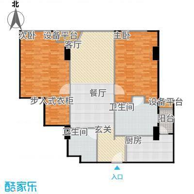 贡院9号159.89㎡贡院9号户型图两室两厅两卫(3/3张)户型10室-副本