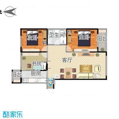 三室一厅76m-副本