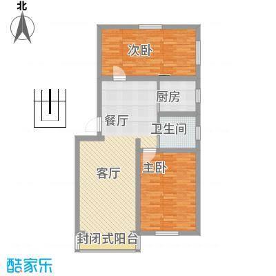 绿梅公寓闵行区罗阳路111弄3号301室户型图
