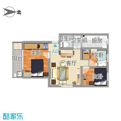 营苑新寓75平方米