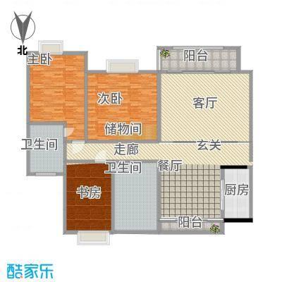 绿窗框;130多平方米三室一厅正确的